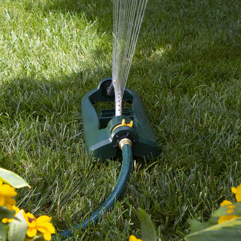 Melnor Oscillating Sprinkler 3,400 Sq Ft Water Hose Irrigation Head Garden