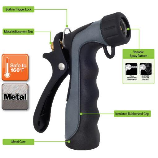 Melnor 465C Industrial Nozzle Features