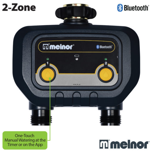 2-Zone Bluetooth Water Timer