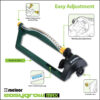 Melnor EasyGrow Max Oscillating Sprinkler Features