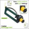 Melnor 22261 EasyGrow™ Oscillating Sprinkler Features